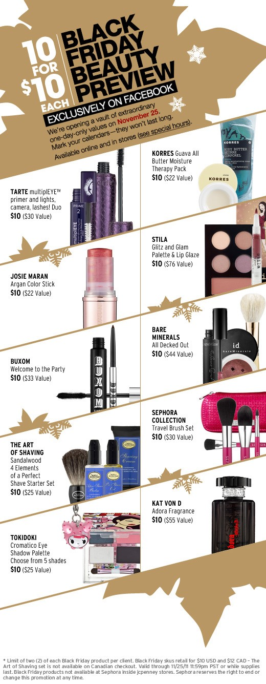 HUGE STEAL: Sephora Black Friday Deals