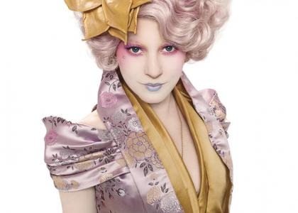 Elizabeth Banks as Effie Trinket in The Hunger Games