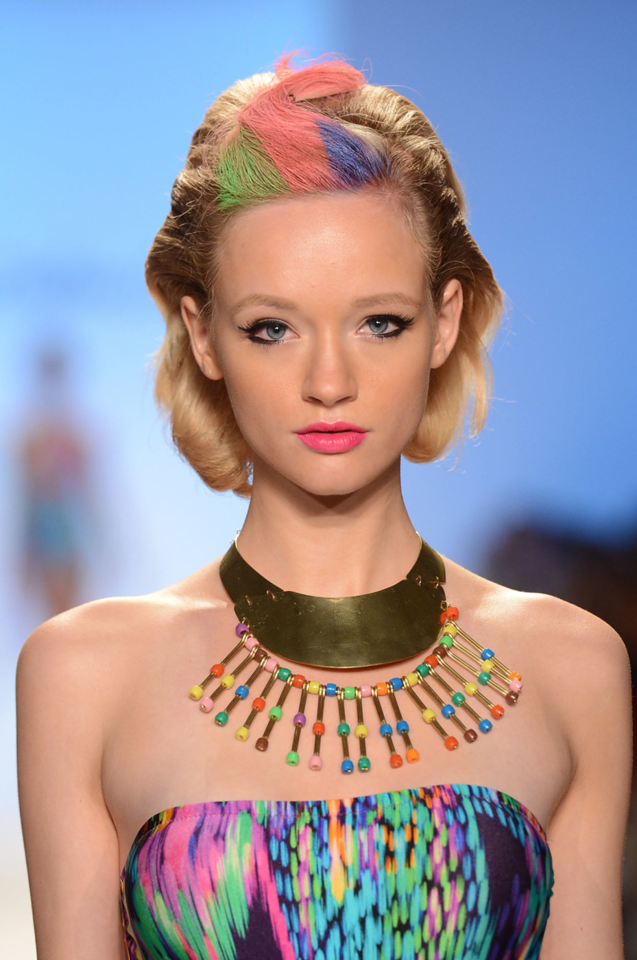Love: MAKE UP FOR EVER at Mercedes Benz Fashion Week Swim