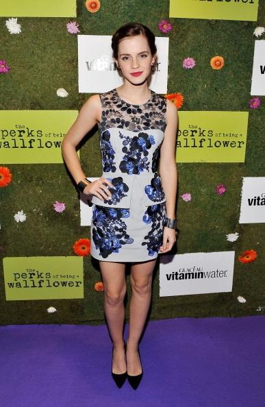 Emma Watson in Erdem - Source: Getty Images