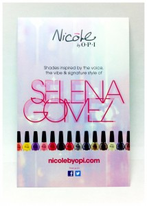 Selena Gomez for Nicole by OPI