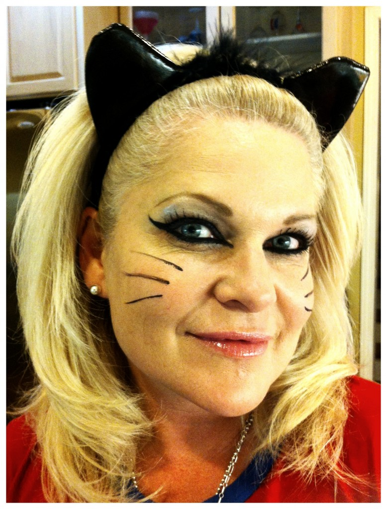 Halloween Makeup - Sexy Cat