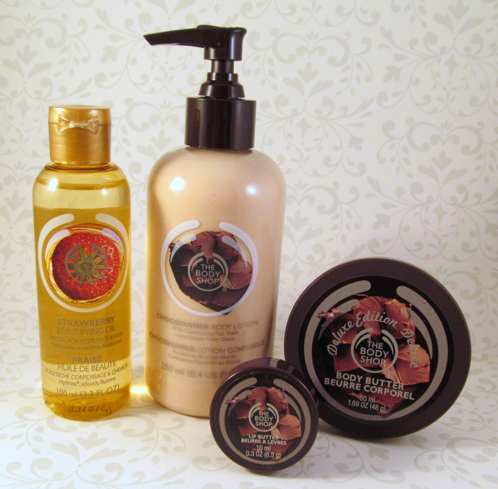 The Body Shop Chocomania Collection