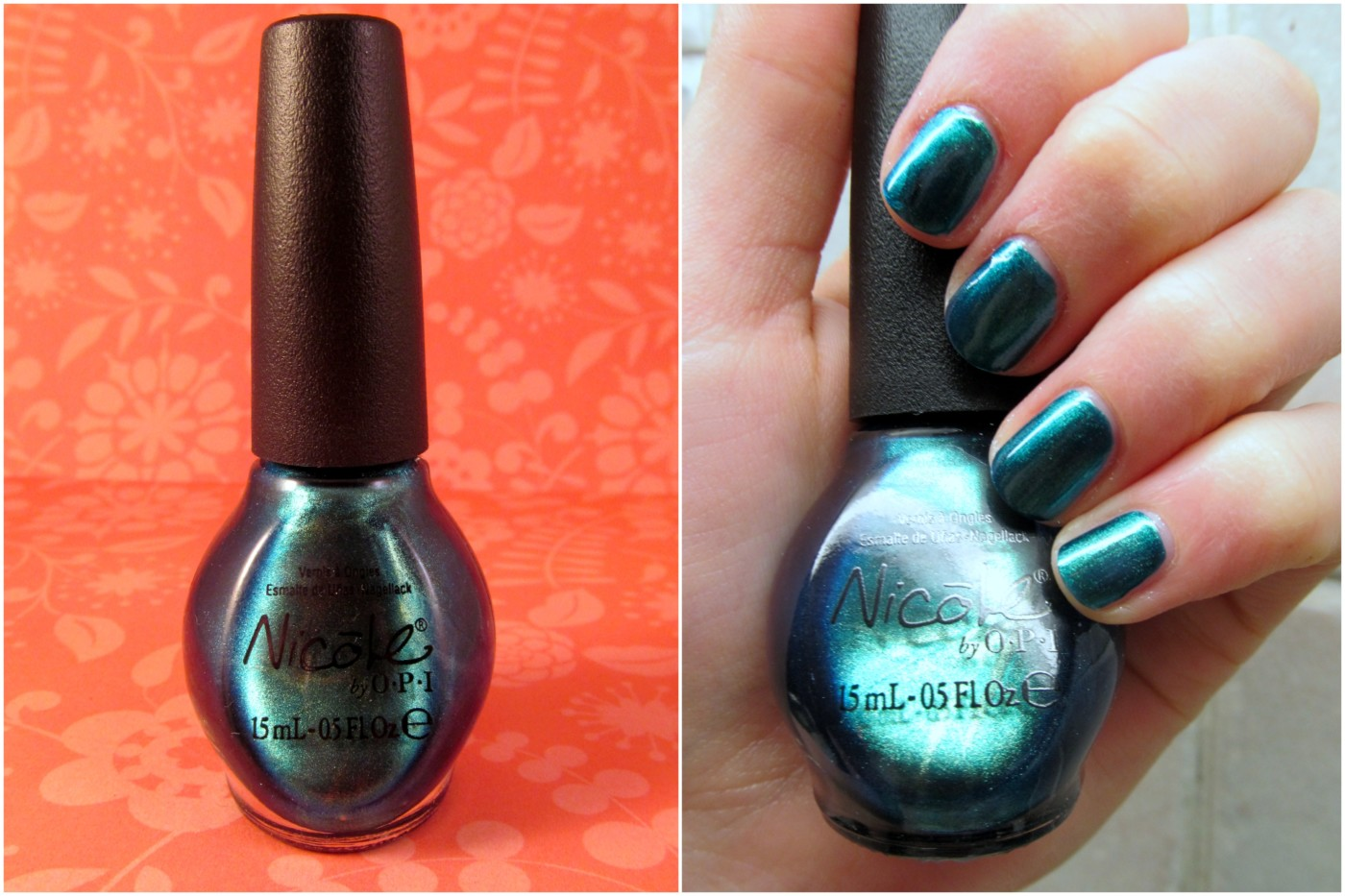 Nicole by OPI Modern Family Swatches - Liner and Glitter and Gloss ...