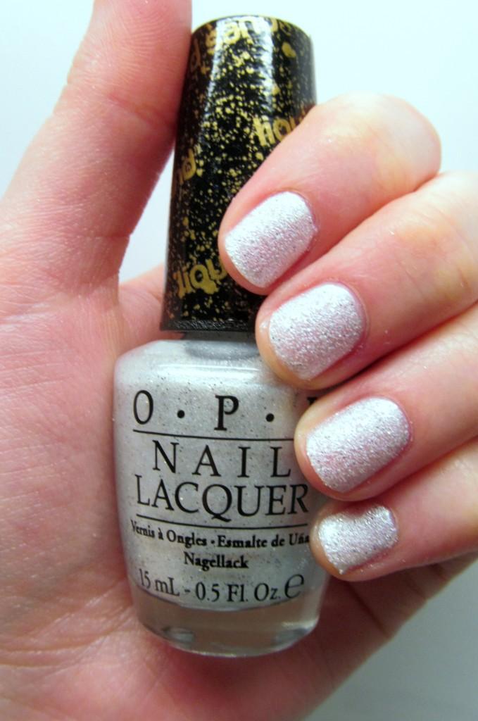 OPI Bond Girls Liquid Sand Solitaire
