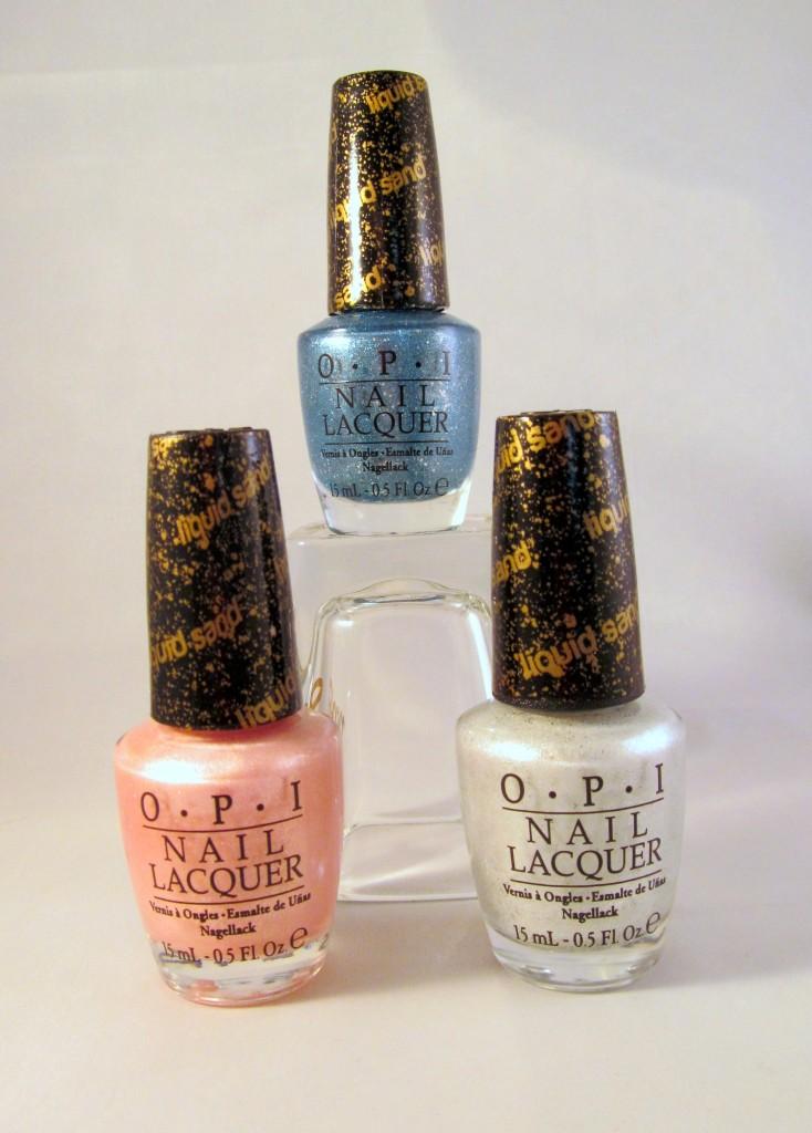 OPI Bond Girls Liquid Sand