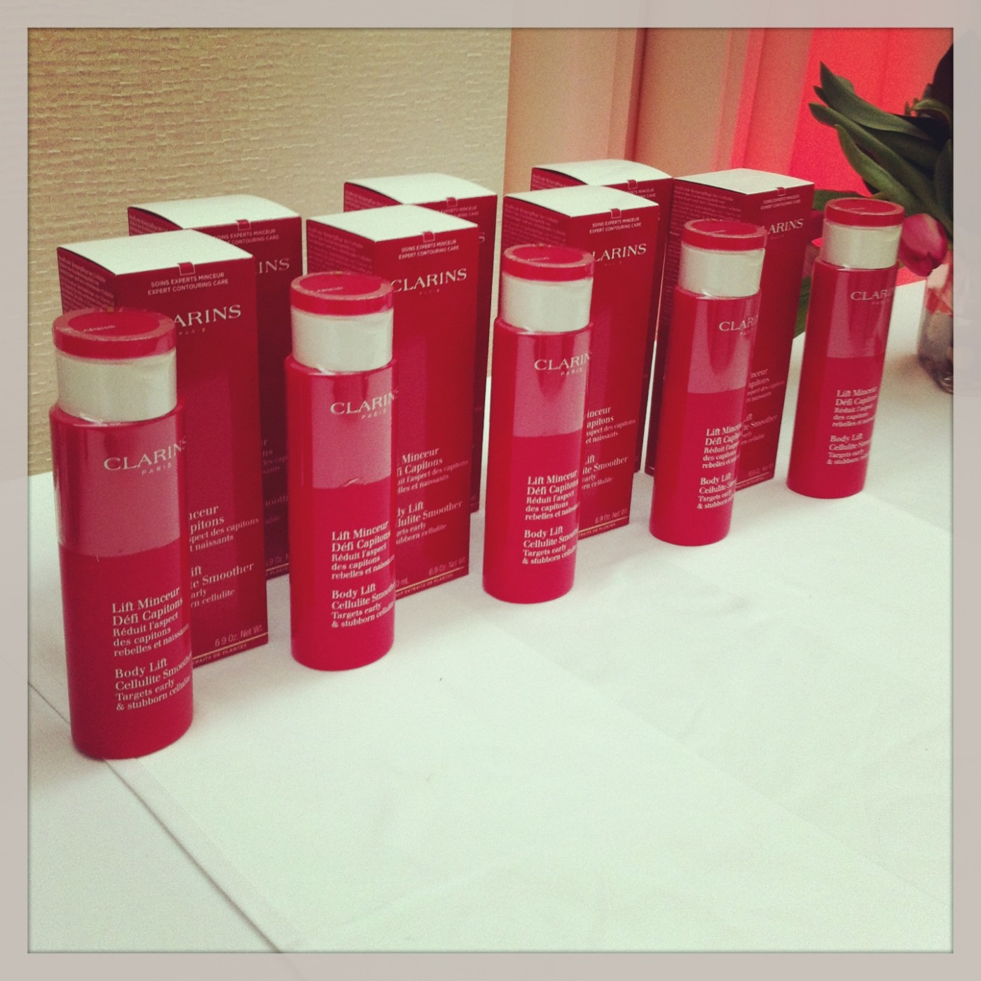 Clarins In Shape