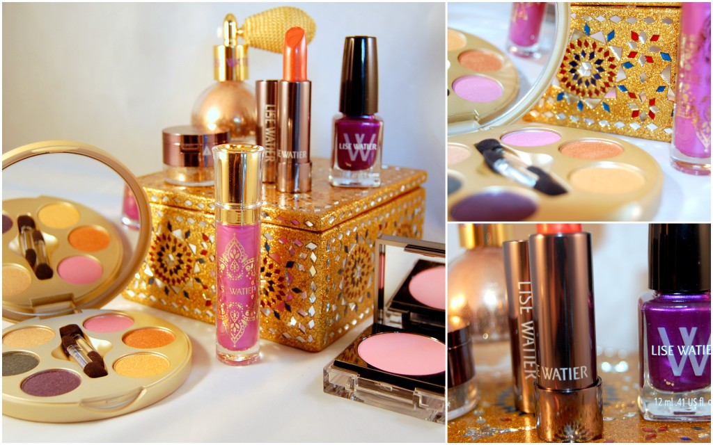 Lise Watier India Gold Collection