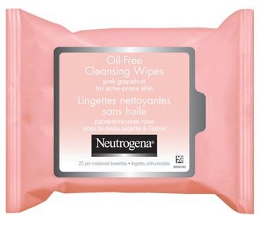 Neutrogena Oil-Free Pink Grapefruit Cleansing Wipes