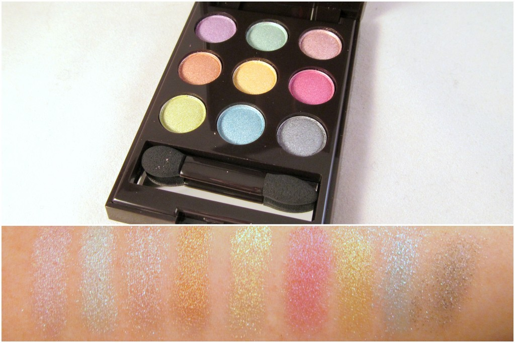 mark on the dot pastels eye color compact with swatches