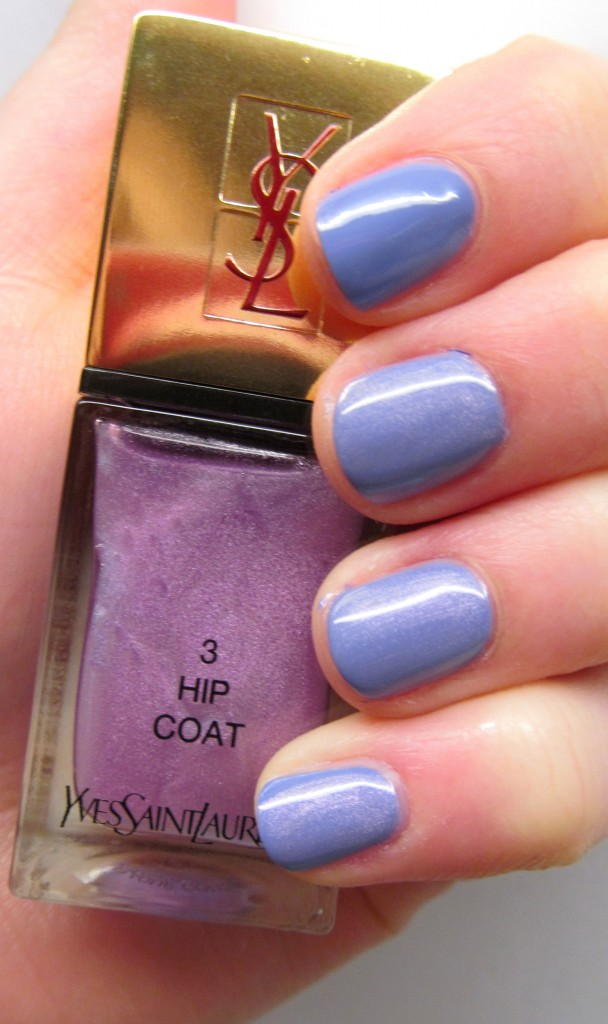 YSL Tie & Dye Top Coat in Hip Coat