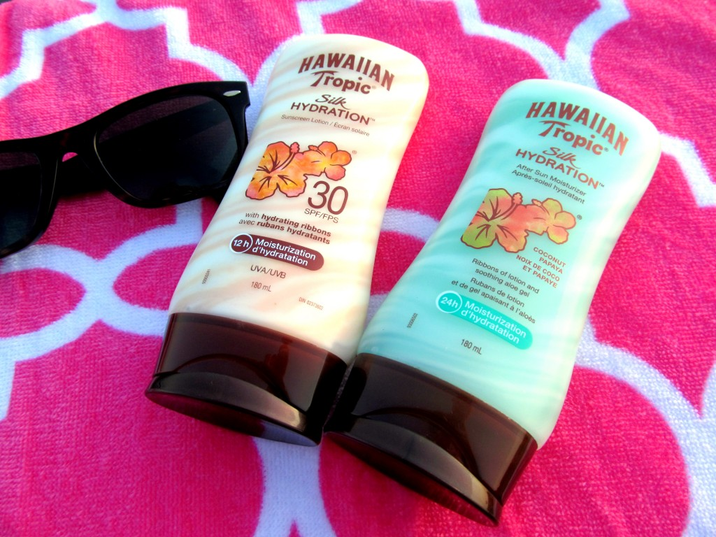 Hawaiian Tropic Silk Hydration Sunscreen Lotion & After Sun Moisturizer