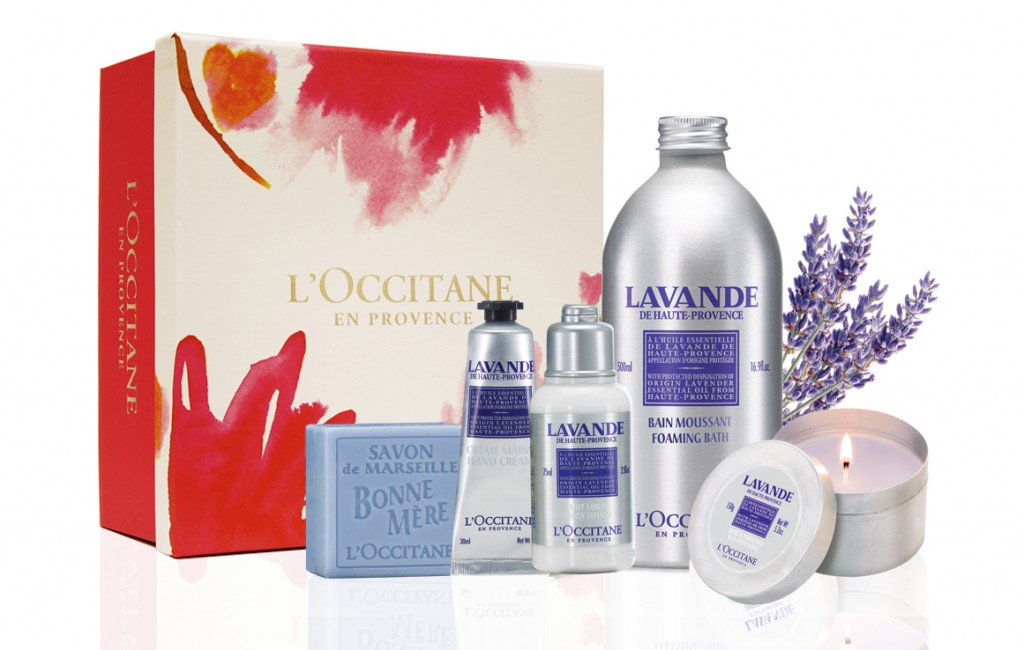 L'Occitane Lavender Spa Set