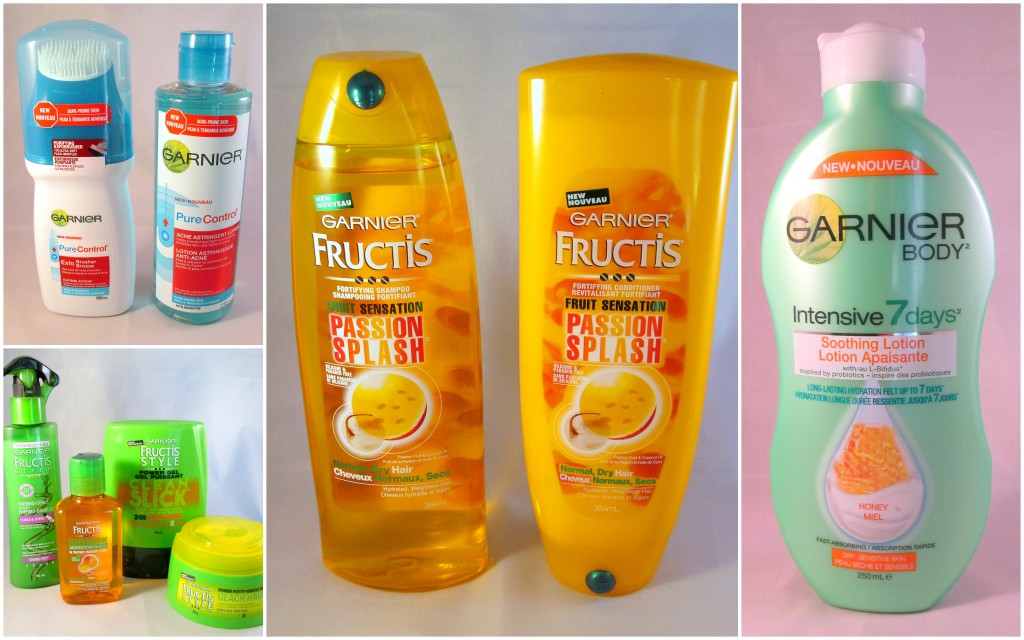 Some of the amazing Garnier products on hand