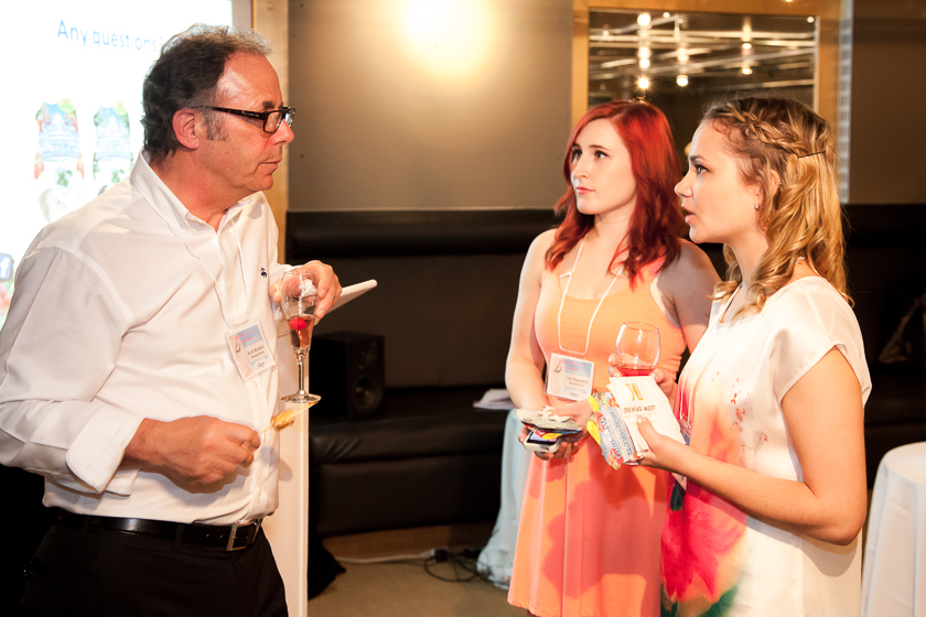 Keith Rockhill speaking with myself and Jenelle from Nelle Creations