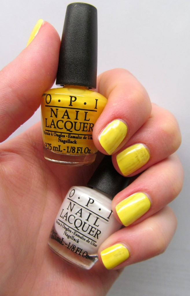 OPI Neon Revolution - OPI Don't Say It - Yellow It!
