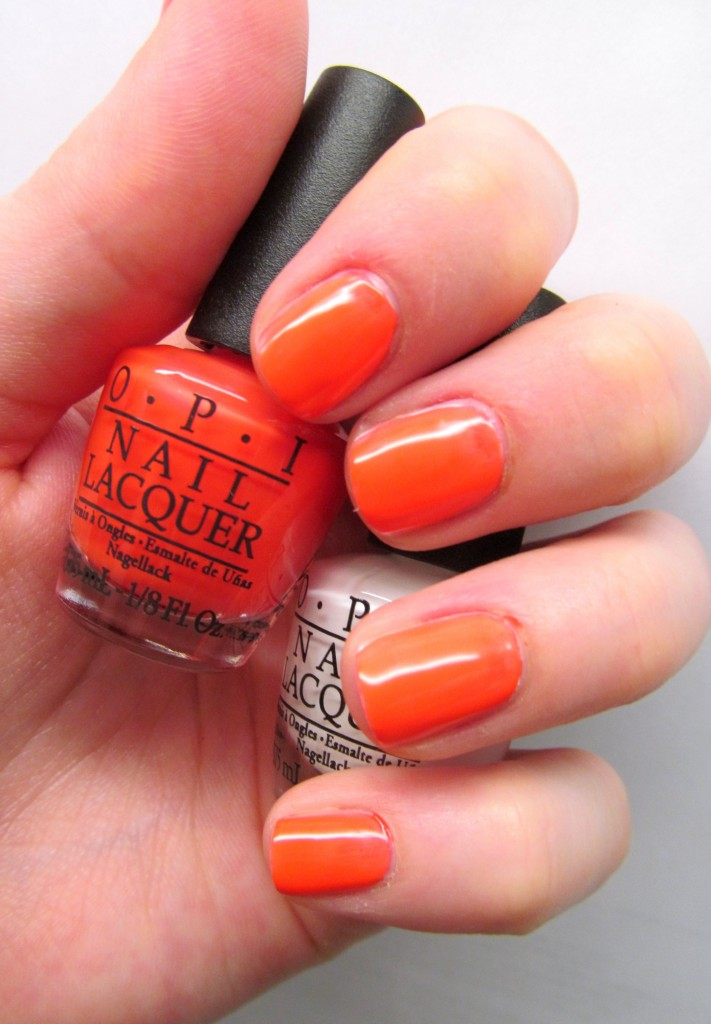 OPI Neon Revolution - OPI The Time Is Pow