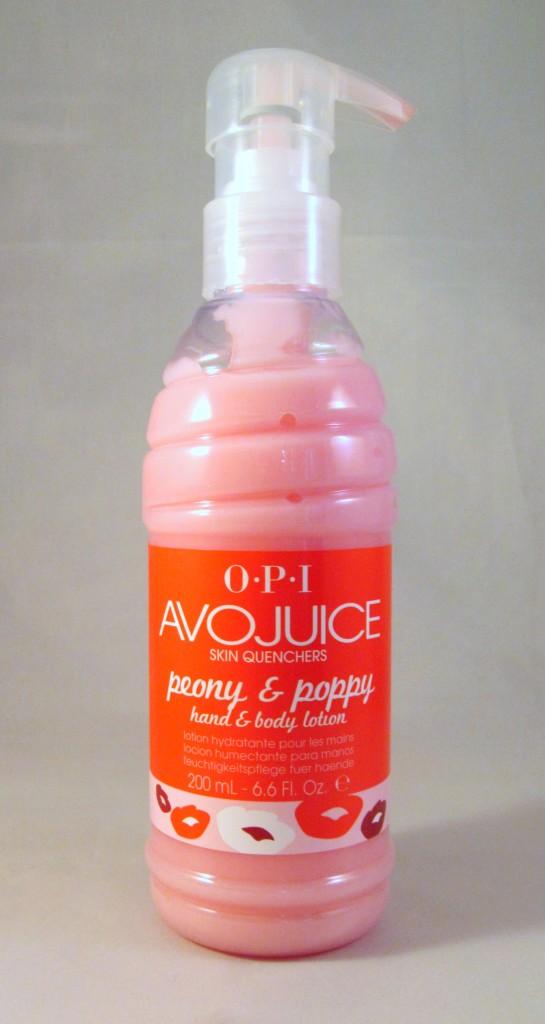 OPI Avojuice Peony & Poppy