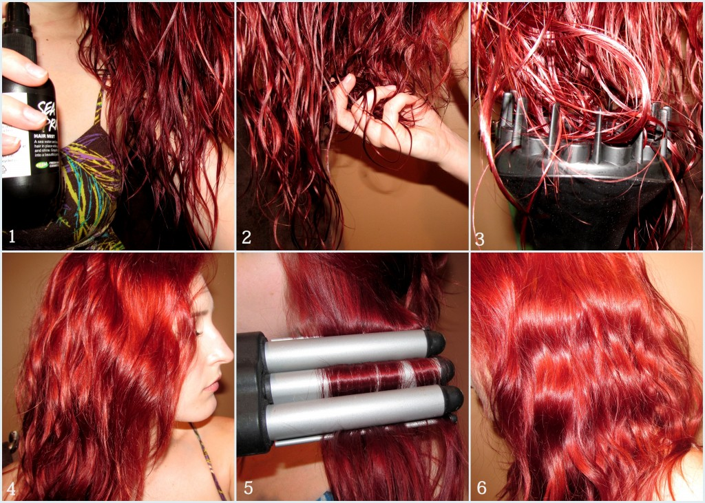 Beachy Mermaid Hair Tutorial Wavy Hair