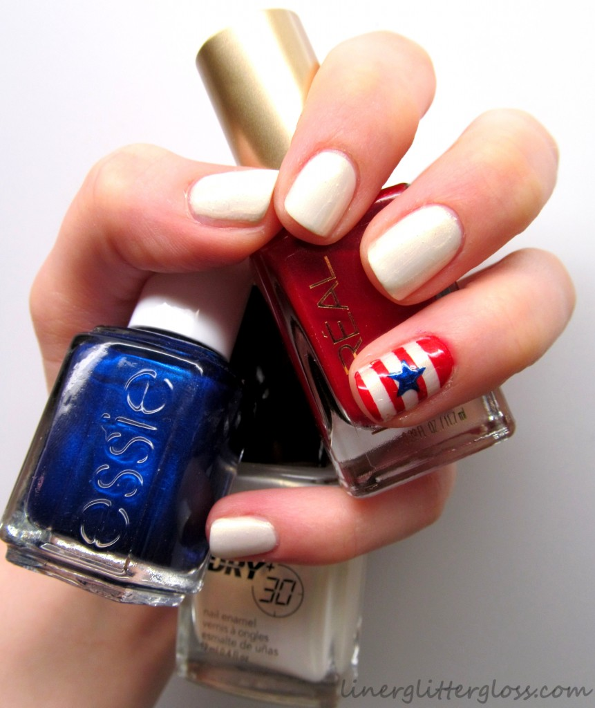 4th of July Nails, america nails, usa nails, 4th of july manicure, 4th of july nail art