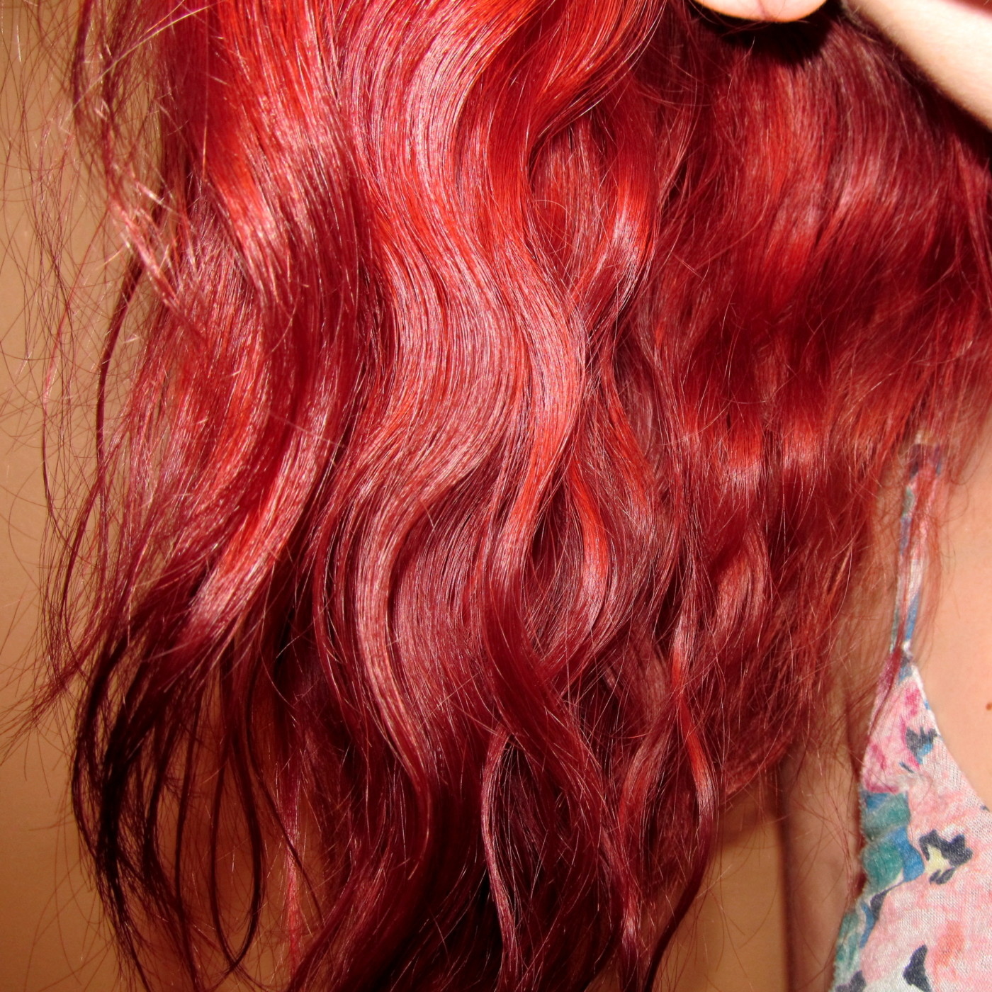 how to keep your hair red