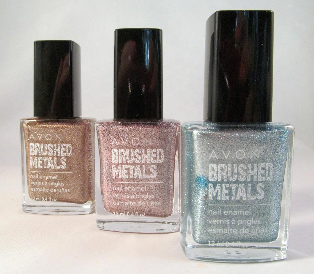 Avon Brushed Metals Nail Enamel