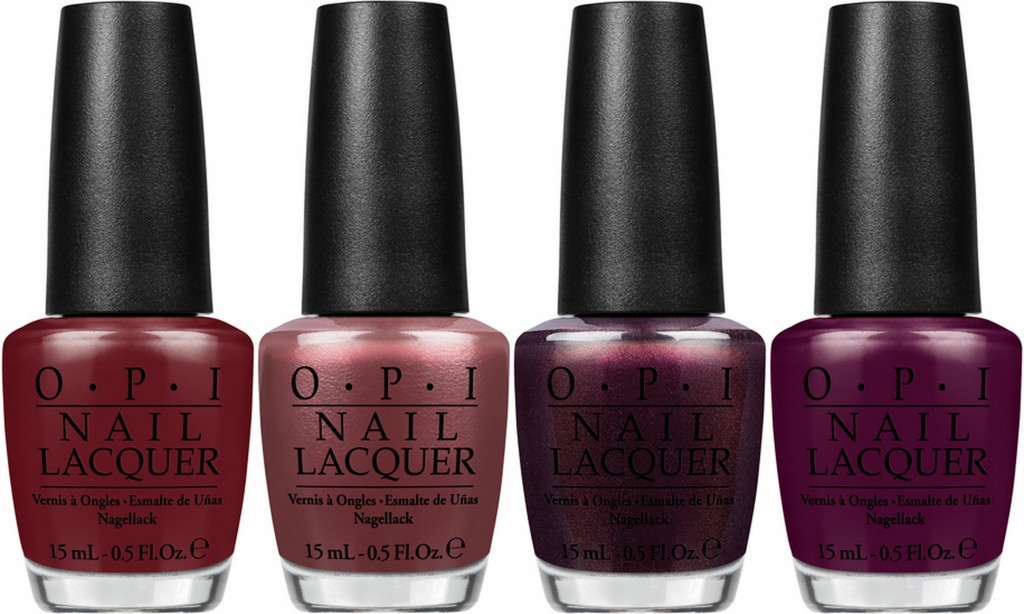 L-R: OPI Lost On Lombard, I Knead Sour-Dough, Muir Muir on the Wall, In the Cable Car-Pool Lane