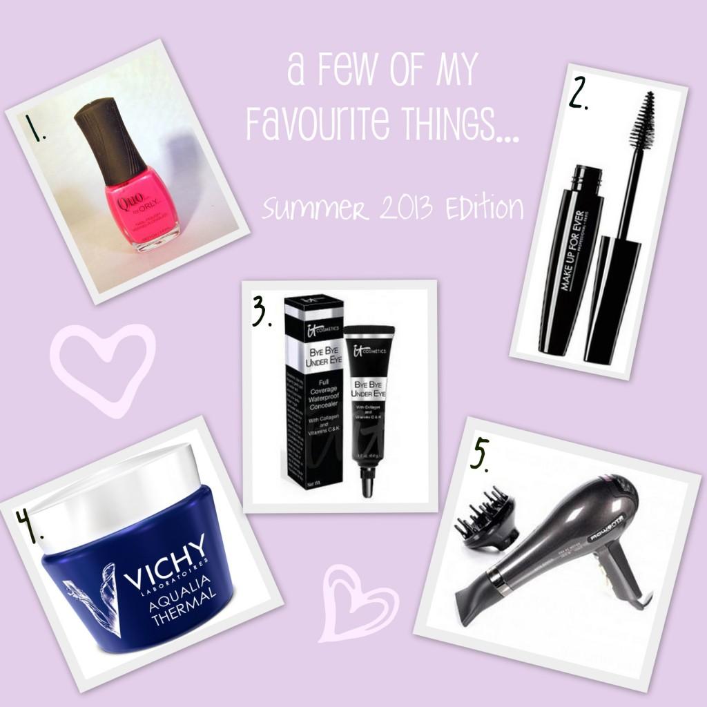 Beauty Essentials Summer 2013