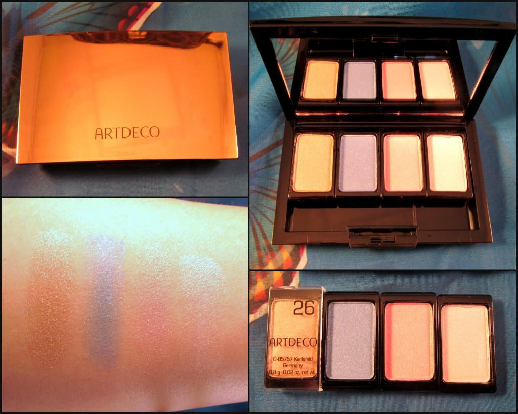 ARTDECO Beauty Box Quattro & Eyeshadows in 26, 73, 93 & 94