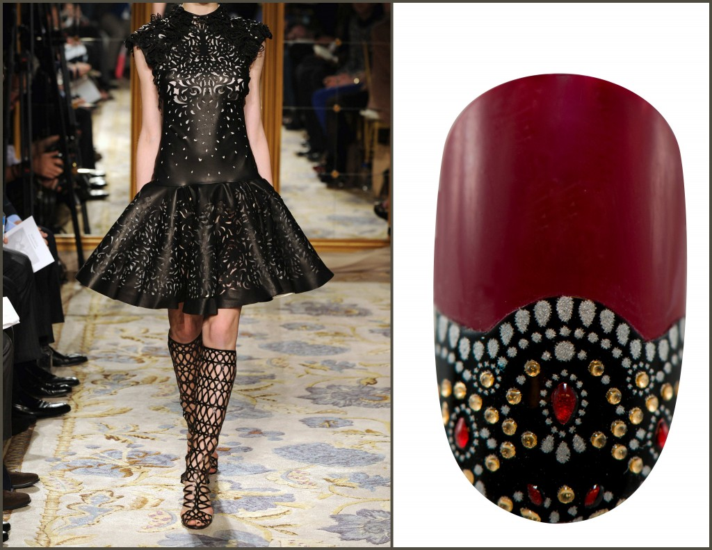 Revlon by Marchesa Nail Appliques in Jeweled Noir