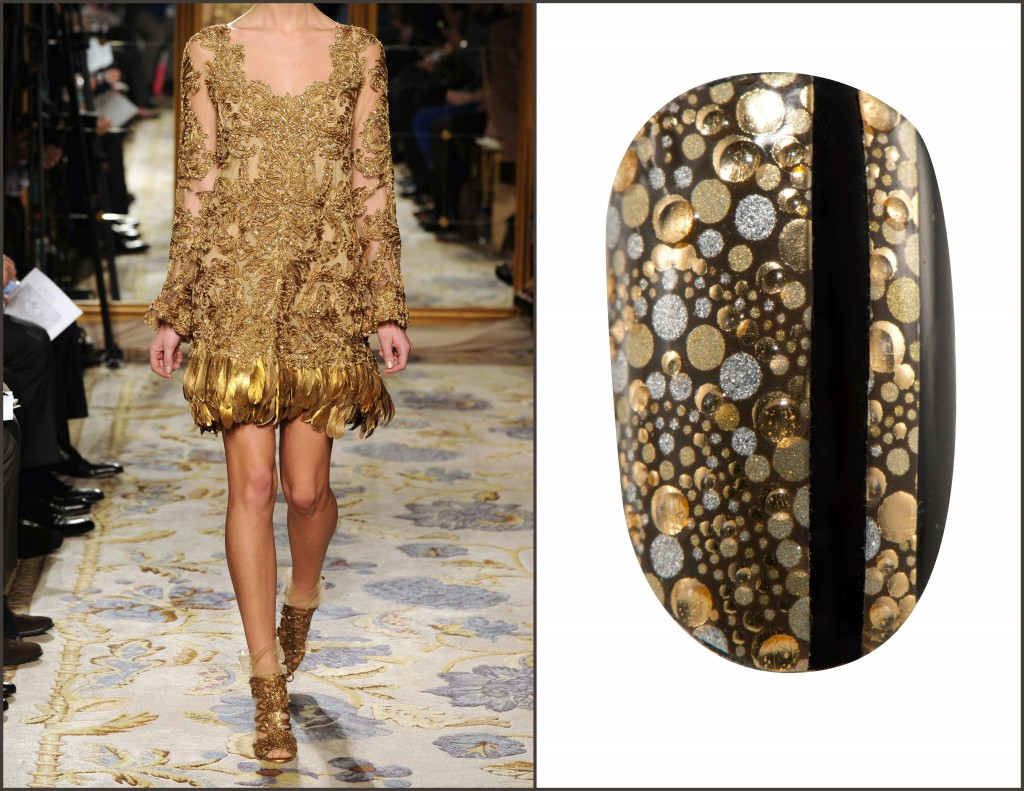 Revlon by Marchesa Nail Appliques in Golded Mosaic