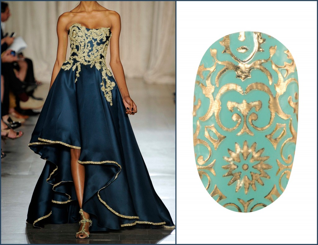 Revlon by Marchesa Nail Appliques in 24K Brocade