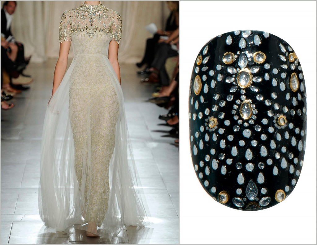 Revlon by Marchesa Nail Appliques in Beaded Couture