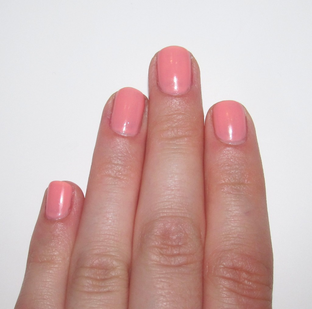Nicole by OPI Prom Mani