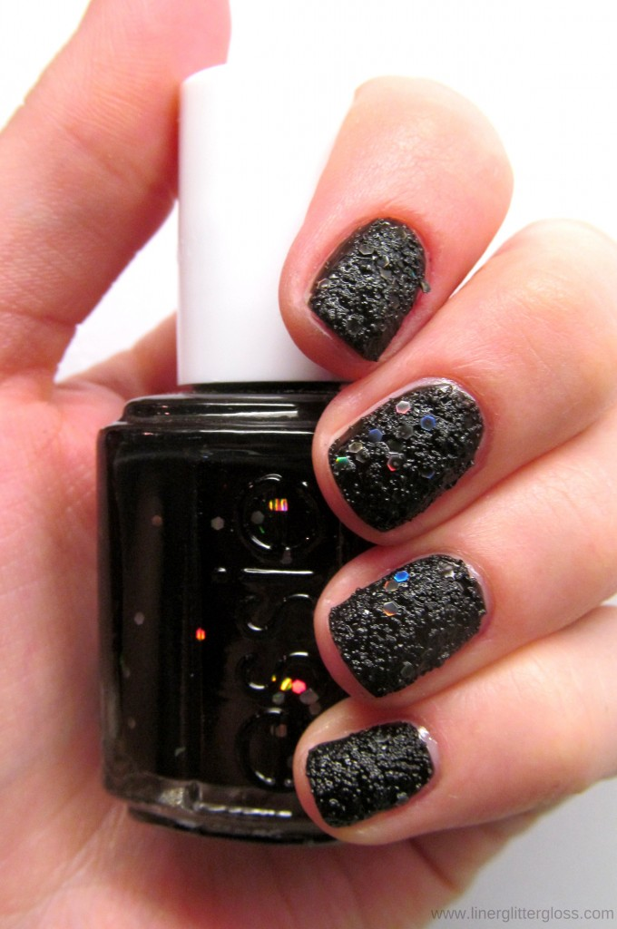 Essie Belugaria Swatch Essie Encrusted Treasures