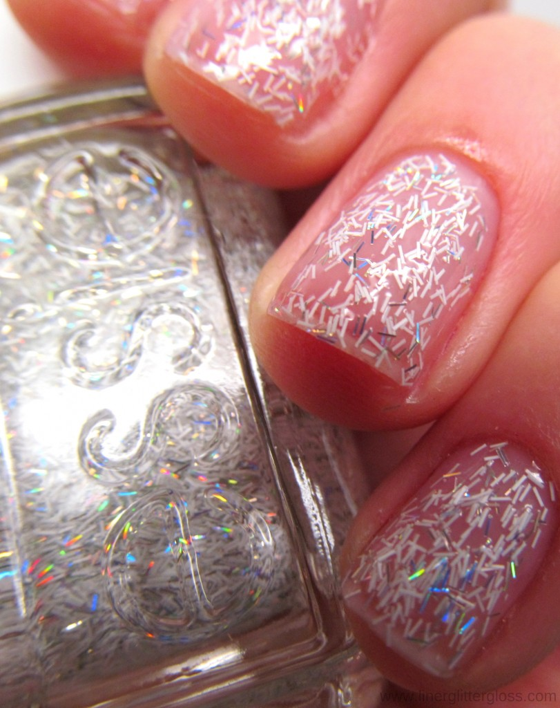 Essie Peak of Chic Swatch Essie Encrusted Treasures