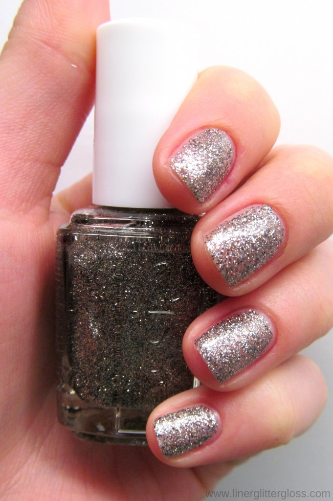 Essie Ignite The Night Swatch Essie Encrusted Treasures