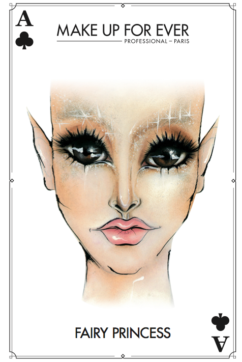 MAKE UP FOR EVER - Halloween Card - Fairy Princess