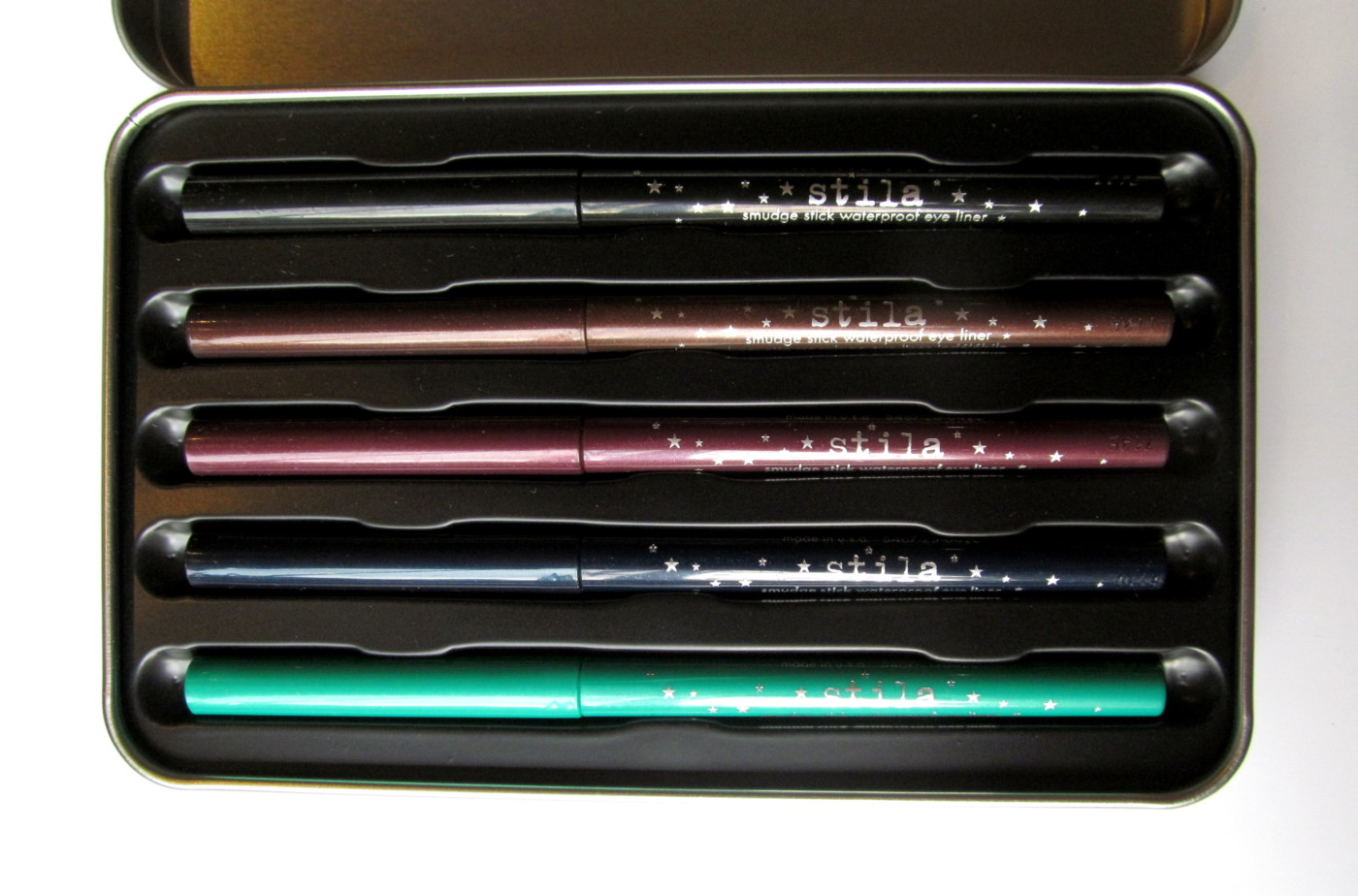 Gift Idea: Stila Color Outside The Lines Smudge Stick Waterproof Eyeliner Set (w/ Swatches)