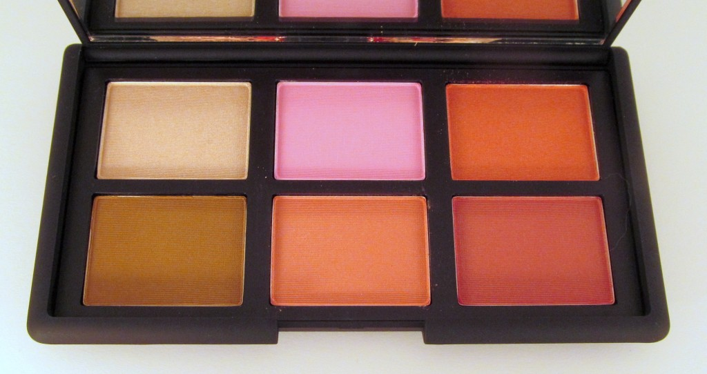 NARS One Night Stand Cheek Palette, NARS Guy Bourdin Holiday 2013, NARS Guy Bourdin One Night Stand, One Night Stand Blush, NARS Blush, One Night Stand Swatches