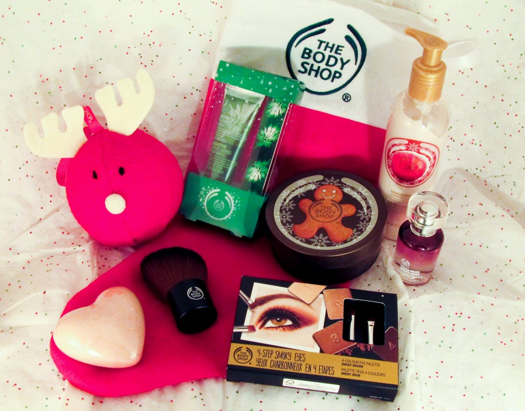 The Body Shop, The Body Shop Gingerbread, The Body shop cranberry, the body shop gifts