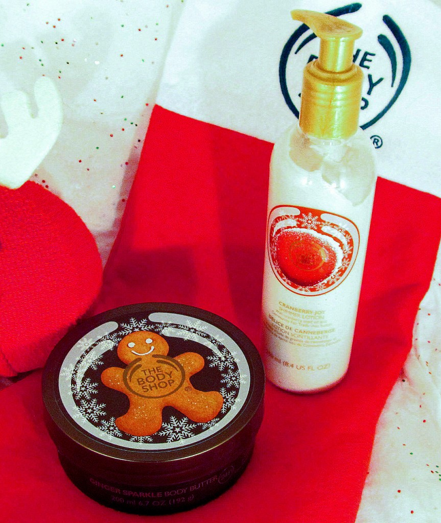 The Body Shop Ginger Sparkle, The Body Shop Cranberry Joy