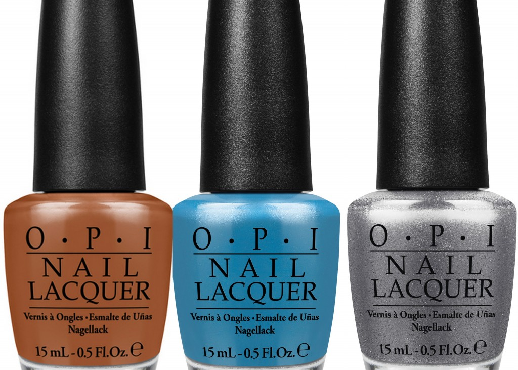 OPI San Francisco Collection, OPI A-piers to be tan, OPI Dining al frisco, OPI Haven't the Foggiest