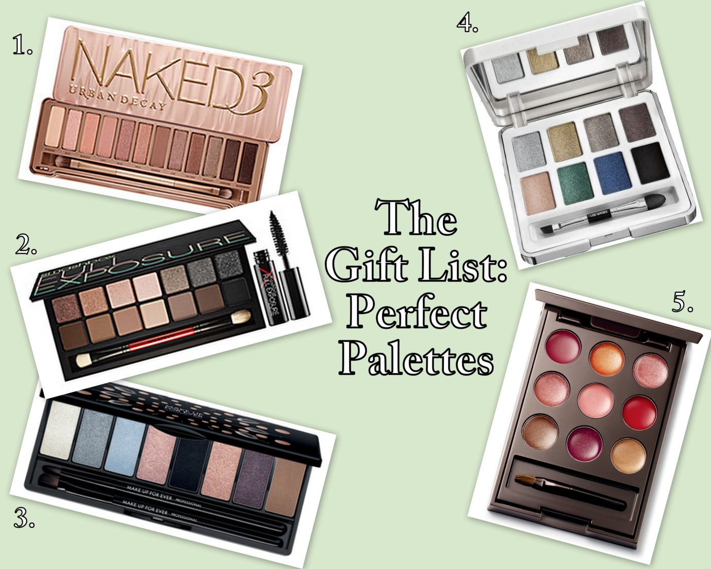 The Gift List: Perfect Palettes