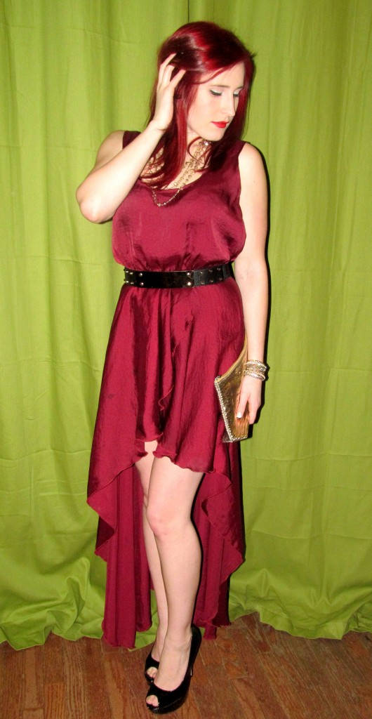 OOTD, BEauty blogger, redhead, style blogger, outfit of the day, red carpet glam outift