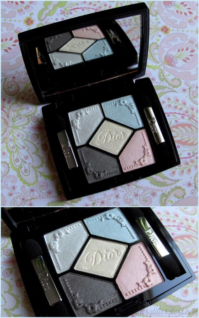Dior 5 couleurs, dior trianon, dior spring 2014, dior trianon swatch, dior 5 couleurs trianon edition