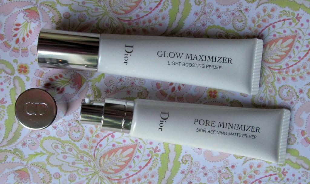 Dior Glow Maximizer, Dior Pore Minimizer, Dior primer, Dior Trianon, Dior Spring 2014