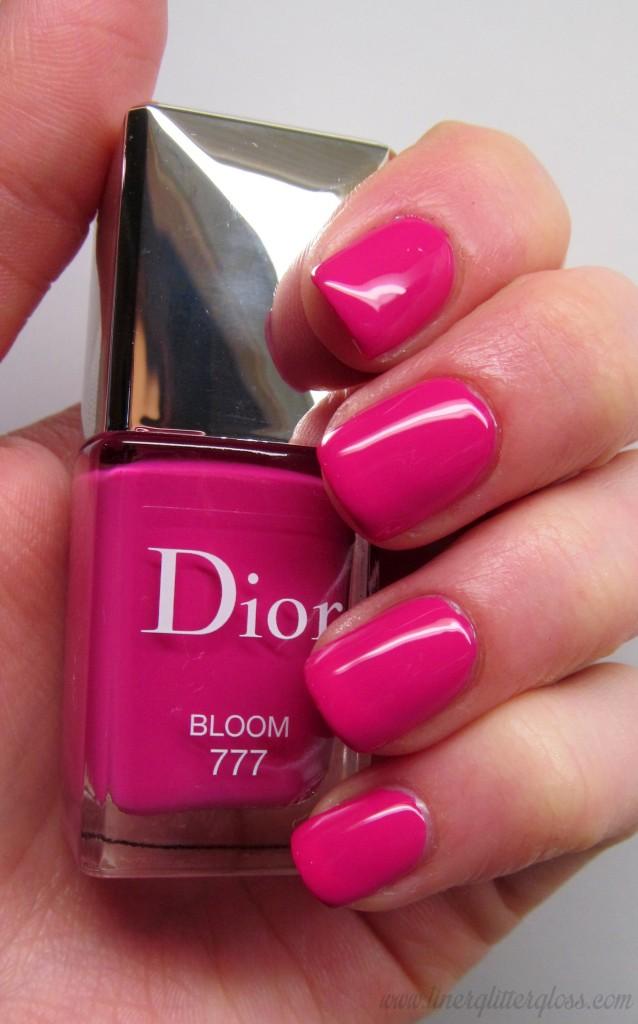 Dior Vernis Bloom, Dior Vernis Bloom swatch, dior vernis, dior spring 2014, dior trianon