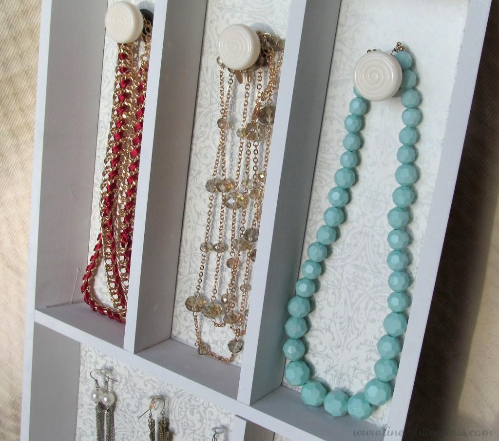 DIY Jewelry Shelf, DIY Jewellery shelf, diy jewelry rack, diy jewelry, ikea craft, ikea hack, ikea jewelry shelf, diy project