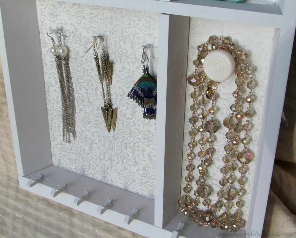 DIY Jewelry Shelf, DIY Jewellery shelf, diy jewelry rack, diy jewelry, ikea craft, ikea hack, ikea jewelry shelf, diy project, diy jewelry holder